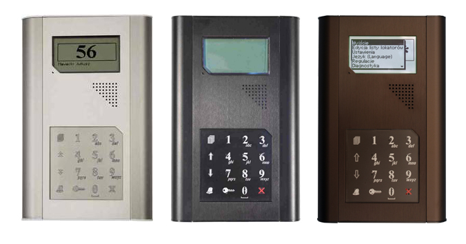 Kaseta domofonu aluminiowa - KDC3000 (PROEL)